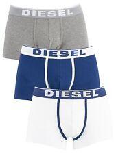 Diesel Men's 3 Pack Fresh & Bright Trunks, Multicoloured
