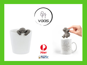 Sloth tea infuser cute silicone strainer loose leaf coffee novelty gift infuse