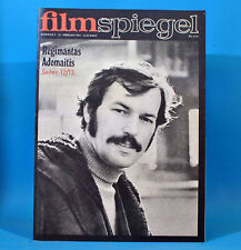 DDR Filmspiegel 5/1974 Josef Laufer Regimantas Adomaitis Wolfgang Greese Wolz
