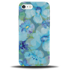 Blue Floral Phone Case Cover Flowers Vintage Flower Turquoise Painting a185