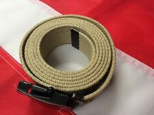 "WEB BELT 54"" buckle emergency survival bug out bag Rothco Color Desert camo tan"