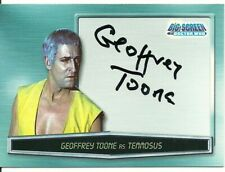 Doctor Who Big Screen Geoffrey Toone as Temmosus autograph auto card A13