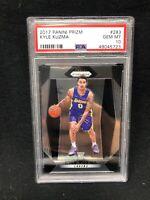 2017 Panini Prizm #283 Kyle Kuzma Lakers RC Rookie PSA 10 GEM MINT G25