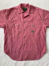 Ralph Lauren Polo Country Authentic Dry Goods Short Sleeve Button Down Size L