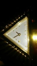 RARE Franklin Mint 22 Karat Gold Plate Egyptian Pyramid Watch Unique!