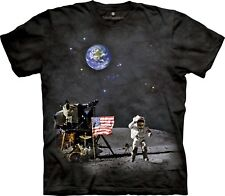The Mountain 100% Cotton Kid's T-Shirt - Moon Landing Size Youth Medium Tee NWT