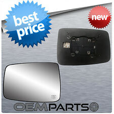 HEATED DRIVER'S LH SIDE MIRROR REPLACEMENT GLASS W BACKING MOUNT 09-14 DODGE RAM
