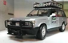 Land Rover Experience Range Rover P38 V8 4.0 4.6 Argent Bburago Modèle Moulé