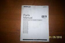 Caterpillar Parts Manual Center-Lock Pin Grabber Coupler