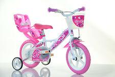 12 Zoll Kinderfahrrad124RLN Mädchenfahrrad Kinderrad Fahrrad Spielrad