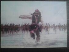 Piratas Del Caribe Jack Sparrow Dead Mans en el pecho de imagen de espuma a3 + montaje posterior
