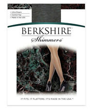 Berkshire Shimmers Control Top Pantyhose Hosiery - Women's Size 3