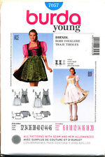 4f3e610f2 BURDA SEWING PATTERN 7057 MISSES 6-20 GERMAN DIRNDL DRESSES, OKTOBERFEST  COSTUME