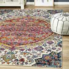 Harper Boho Traditional Multi Colour Modern Floor Rug - 4 Sizes **FREE DELIVERY*