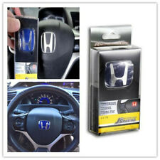 TYPE-R  JDM J'S   BLUE STEERING EMBLEM BADGE FIT FOR ACCORD CIVIC