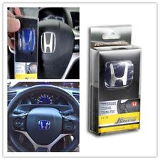 Type R Jdm Js Blue Steering Emblem Badge Fit For Accord Civic Fits 2012 Honda Civic