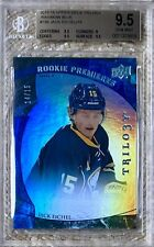 🏒2015 UD TRILOGY RAINBOW BLUE /15 JACK EICHEL RC BGS 9.5 CARDREGISTRYINC POP 1