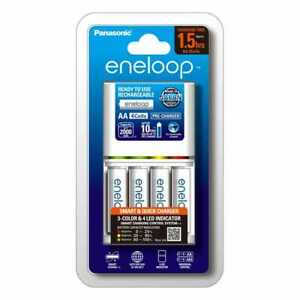 New Eneloop 2hr Charger & 4x AA