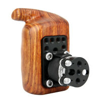 Niceyrig Wooden Handle Arri Set For DSLR Camera Handle Grip with ARRI Rosette
