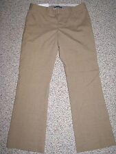 NWT GAP HIP SLUNG FIT LOWEST RISE FLARE WOOL BLEND DRESS PANTS 2 ANKLE INSEAM 29