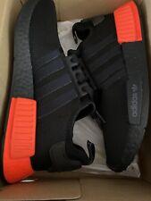 Adidas NMD_R1 Core Black & Solar Red US Mens 8  (Brand New)