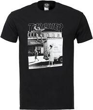 Thrasher Magazine Hackett Skate Camiseta Negro