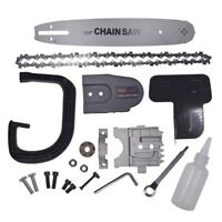 11.5 Inch Chainsaw Bracket Change Into Chain Saw Woodworking Tool