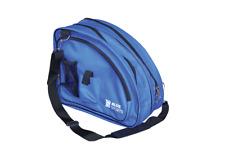 Deluxe Skate Bag Blue heavy durable hockey ice Bleu