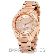 Armani Exchange Ax5432 Rose Gold-tone Stainless Steel Bracelet Watch 1 PC