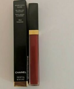 Chanel Rouge Coco Gloss Moisturizing Glossimer Lip Gloss 784 Romance New Boxed