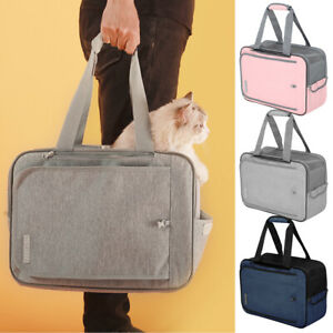 Travel Airline-approved Dog & Cat Carrier Backpack Soft Sided Crate Handbag Tote