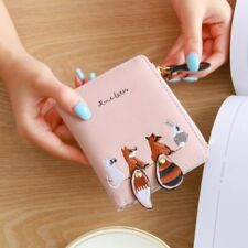 Cute Lady Short Women Mini Money Wallet Fold Bag Coin Purse Card Holder Wallets