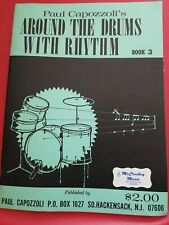 Capozzoli's - Around The Drums With Rhythm Book 3. Nos. Shelf Wear 32 pages