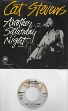 CAT STEVENS Another Saturday Night / Home In The Sky  original 45 with PicSleeve