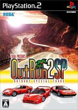 Used PS2 SEGA Out Run 2 SP SONY PLAYSTATION JAPAN IMPORT