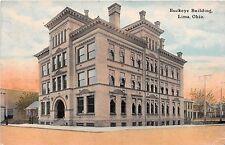 Ohio postcard Lima, Buckeye Building ca 1911
