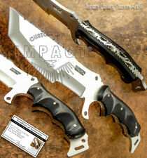 IMPACT CUTLERY RARE CUSTOM BUSHCRAFT COMBAT TRACKER SURVIVAL KNIFE FULL TANG