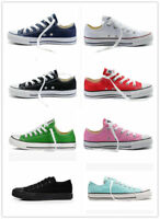 Women Man ALL STARs Chuck Taylor Ox Low High Top shoes casual Canvas Sneakers+A