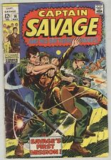Captain Savage and his Battlefield Raiders #14 May 1969 G/VG Last Issue