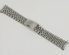 ORIGINAL Rolex Hecho in Mexico Oval Link Stainless Steel Jubilee Band! 19mm