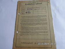 INFORME DE ÉPOCA 1960 RENAULT R 1090 840 CCM 26,5ps DAUPHINE Hoja de datos MO