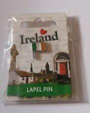 Irish Tri colour pin badge.