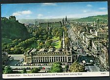View of Royal Scottish Academy & Princess Street, Edinburgh. Posted 1980