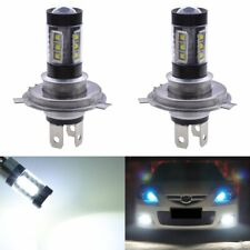 2PCS H4 LED 80W Auto Car Bright White Headlight Fog Lamp Bulbs for DRL Driving