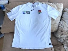 Nike England Rugby Union World Cup 2011 Home Shirt Size Large BNew Without Tags