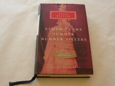 Borzoi Knopf Novel: ETHAN FROME SUMMER BUNNER SISTERS Edith Wharton HCDJ 2008