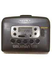 Sony Walkman Cassette Player, Radio Works, Tape Plays Slow, WM-FX423 MEGA BASS