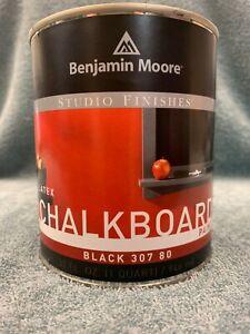 Benjamin Moore Studio Finishes Chalkboard Paint- Quart 307 80