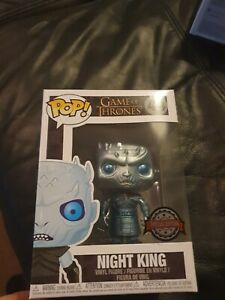 Metallic Night King Special Edition Game Of Thrones 44 Funko Pop Vinyl