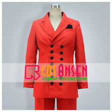 Cosonsen Tiger And Bunny Barnaby Brooks Jr Red Uniform Cosplay Costume